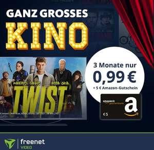 3 Monate Freenet Video mit eff. 4,01€ Gewinn durch 5€ Amazon Gutschein: z.B. mit Born a Champion (IMDb 7,0) oder Crime Game (IMDb 6,4)