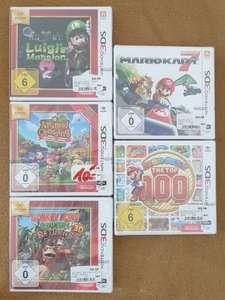 [Lokal Media Markt Bielefeld] Nintendo 3DS Spiele für 10€ u.a. Mario Kart 7