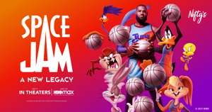 NFT Giveaway   Space Jam: A New Legacy Tune Squad Group