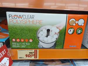 [Lokal real,- Falkensee und eventuell bundesweit] Flowclear Polysphere Filterbälle 500g Packung bei real,- in Falkensee