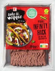 K-Take it veggie - Veganer Infinity Hack 250g für 2,29€ / Magnum - Vegan für 1,88€ [Kaufland]