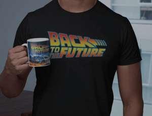 Back to Future Shirt + Tasse Portofrei