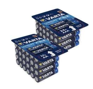 Varta Longlife Batterien (24 Stk) AA und AAA im Kaufland