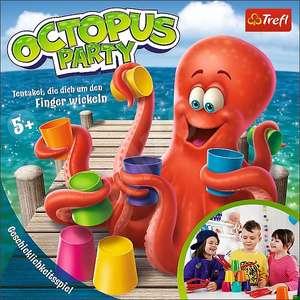 Trefl, Octopus Party, Geschicklichkeitsspiel, Brettspiel, Gesellschaftspiel