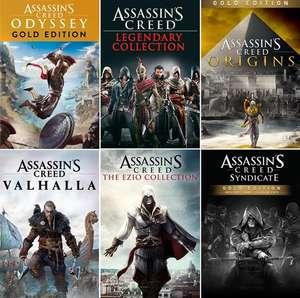 [Xbox BR store] Assassin's Creed Origins Gold für 10€ - The Ezio Collection für 6€ - Odyssey Gold für 11,40€ & more AC games