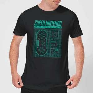 Offiziell lizenziertes Nintendo T-Shirt (Gr. XS - XXL, teilweise sogar bis 5XL, 147 verschiedene Motive)
