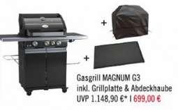 (Lokal MOD) Rösle Gasgrill BBQ-Station Magnum G3 inkl. Grillplatte und Abdeckhaube