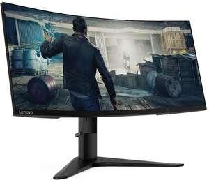 "Lenovo G34w-10 Monitor (34"", 3440x1440, VA, Curved, 144Hz, FreeSync, 350cd/m², HDMI 2.0, DP 1.4, höhenverstellbar, 3J Garantie)"