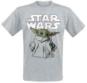 Star Wars The Mandalorian Baby Yoda T-Shirt (Gr. S - 5XL) für 5,99€ versandkostenfrei