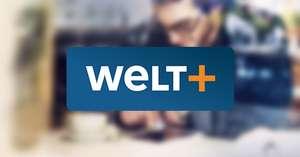 Welt Plus (Bundesliga-Videos, Zugang zu allen Artikeln auf WELT.de und in der WELT News App) mit 30% Rabatt