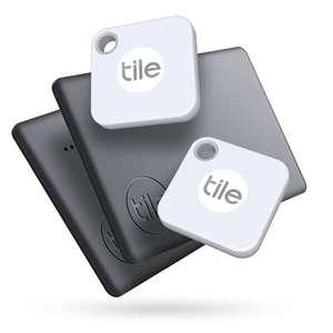 Amazon 2 Stück Tile Mate und 2 Stück Tile Slim Blutooth Tracker