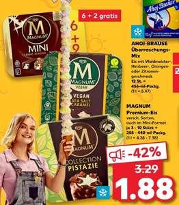 [Kaufland] Magnum verschiedene Sorten, Vegan, Pistazie, Mini ....