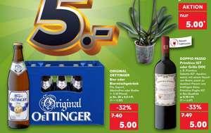 [Kaufland] Oettinger Bier und Biermischgetränke + Doppio Passo Rotwein
