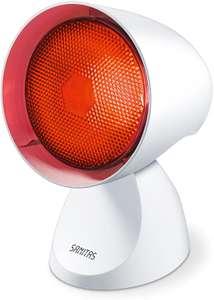 Sanitas SIL 16 Infrarotlampe, Intensiv-Infrarotlicht zur Anwendung bei Erkältungen und Verspannungen für 12,99€ (Müller Abholung)