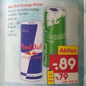 Red Bull Energy Drink 79 Cent (mit NettoApp)