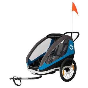 (Babymarkt) Hamax Kinderfahrradanhänger Traveller Petrol Blue/Grey