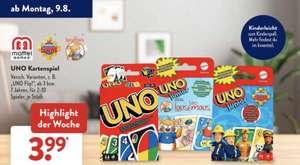 UNO , UNO Junior Kartenspiel bei Aldi Süd ab 09.08.2021