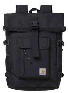 Carhartt WIP Philis Rucksack in schwarz mit 21,5 Litern Volumen