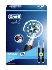 Oral-B PRO 2-2900 mit 2. Zahnbürste Black Elektrische Zahnbürste