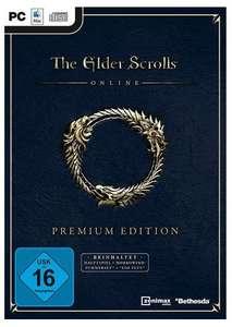 The Elder Scrolls Online: Premium Edition für 16,99€ / Blackwood Collection für 46,74€ [PC] [Müller Abholung]