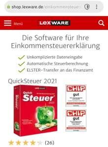 Lexware Quicksteuer 2021 Digital