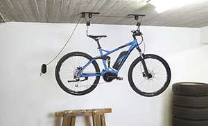 FISCHER Fahrradlift bis 30kg, Fahrradhalterung, bis zu 4 m Deckenhöhe, mechanisch (MM Abholung)