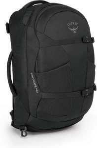 Osprey Farpoint 40 S-M - Reise-Rucksack (Travel-Backpack, Handgepäck, Brustgurt, 40 Liter) Vulcanic Grey