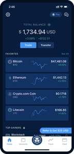 [Crypto KWK] Crypto.com 25$ Bonus für Werber und Geworbenen bei 350€ Staking inkl. VISA CARD mit 2% Cashback und Spotify