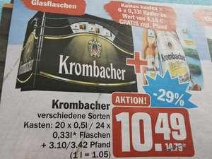[HIT ab heute] Krombacher Kasten + Sixpack Radler