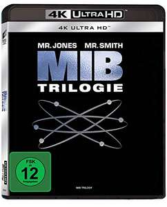 Men in Black (1-3) Collection 4K (4K Ultra HD) für 22,97€ (Amazon Prime)