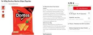 Kaufland 9x 125g Doritos Paprika Nachos