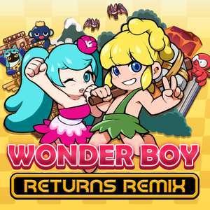 Wonder Boy Returns Remix (Switch) für 4,99€ oder für 4,30 RUS (eShop)