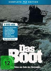 Das Boot - Complete Edition (Blu-ray + CD + Hörbuch 8 Discs) für 24,97€ (Amazon Prime)
