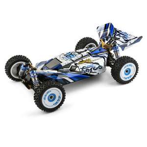 Wltoys 124017 Bürstenloser Motor RTR 1/12 2.4G 4WD 70km/h RC Auto, Metall-Chassis, Modellspielzeug / + Andere RC Cars
