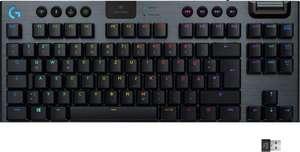 Logitech G915 TKL Mechanische Lightspeed RGB Gaming-Tastatur (Taktile Switches) - AZERTY Layout