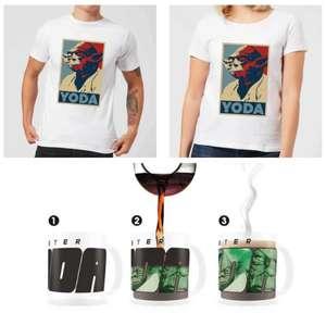 Star Wars T-Shirt für Herren/Damen/Kinder & Thermoeffekt-Tasse (300 mL) im Set für 15,98€ inkl. Versand