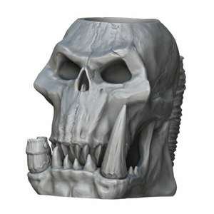 3D Druck Vorlagen mit 65% Rabatt - z.B. The Orc Skull