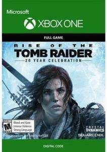 Rise of the Tomb Raider: 20-jähriges Jubiläum (Xbox One Digital Code) für 5,99€ oder 4,98€ HUN (Xbox Store Xbox Live Gold)