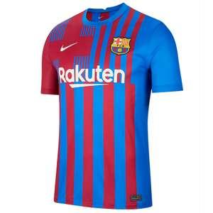 Nike FC Barcelona Home Trikot 2021/2022 +Füllartikel und viele weitere Trikots der neuen Saison Bayern, Dortmund, City, Liverpool usw. @SC24