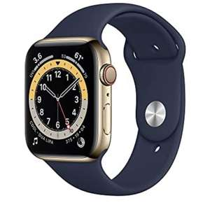 Apple Watch Series 6 44 mm Edelstahl Gold LTE + GPS Amazon.es