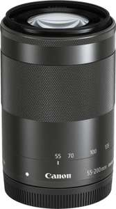 Canon EF-M 55-200mm f4.5-6.3 IS STM Objektiv für 239€ inkl. Versand (Media Markt Club)