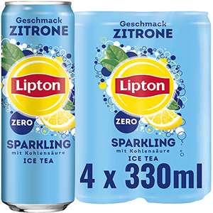 Amazon Prime: 4er Pack Lipton Sparkling Zitrone Zero , jede Dose mit 330ml Inhalt, (mit 5 Abo noch etwas günstiger )