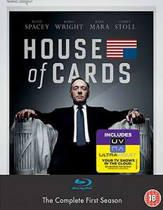 House of Cards Season 1 [UK-Import] (Amazon Prime) Blu-ray