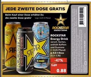 [Kaufland ab 05.08] 2 Dosen Rockstar Energy 0,5L kaufen und nur eine zahlen. Abgabemenge je Coupon/Einkauf auf 12 Dosen begrenzt