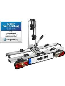 EUFAB Premium, Fahrradträger, E-Bike geeignet, abschließbar