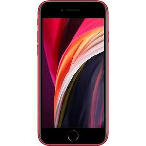 """Apple iPhone SE 64/3GB (A13 Prozessor: 498K Antutu, 4.7"""" HD+ IPS Display, 1821mAh Akku, 12MP Kamera, Wireless Charging, Touch ID, 148 Gramm)"""