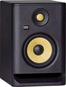 "KRK Rokit RP5 G4 5"" aktiver Nahfeldmonitor (Class D Bi-Amp, LCD Display, grafischer EQ mit 25 DSP Presets)"