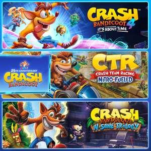 [nintendo eshop ru] Crash Bandicoot - Crashiläum-Bundle