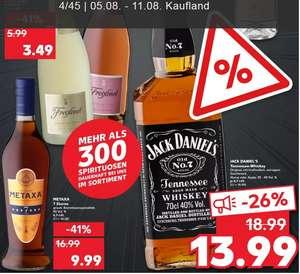 [Kaufland-3xRegensburg] Extra-Angebote - Jack Daniel's Tennessee Whiskey 0,7 L