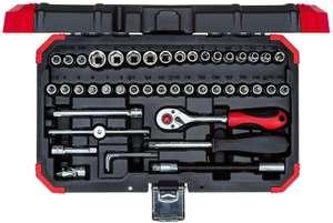 """Gedore red Steckschlüsselsatz 1/4"""", 46-teilig, mit Umschaltknarre, Ratsche, Steckschlüssel und Bitsatz,"""